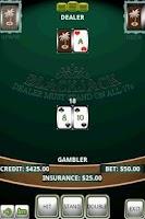 Screenshot of Blackjack Gold