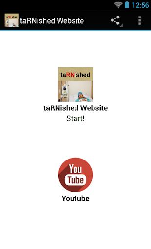 taRNished Website