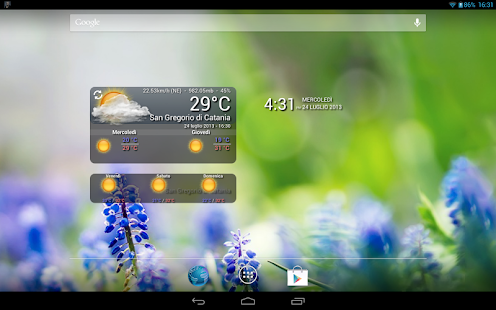 WeatherWidget - screenshot thumbnail