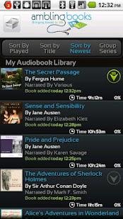 Ambling BookPlayer Pro- screenshot thumbnail
