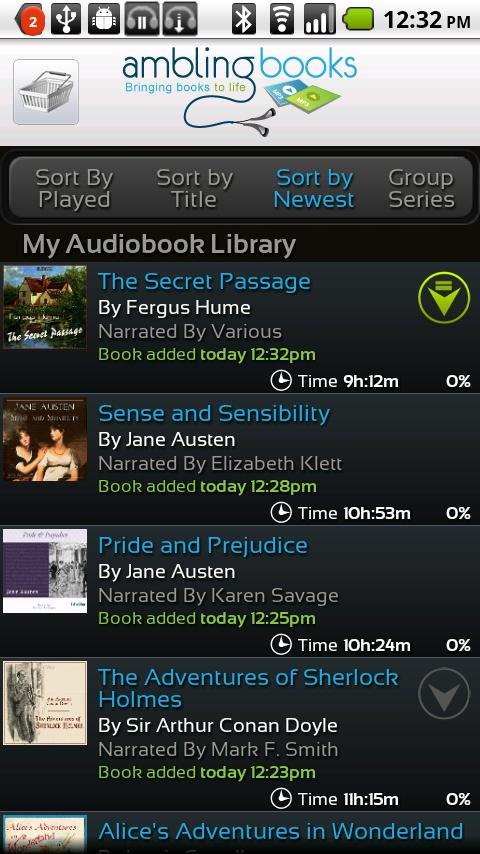 Ambling BookPlayer Pro - screenshot