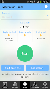 ZenFriend - Meditation Timer- screenshot thumbnail