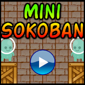 Difficult Mini Sokoban Puzzles