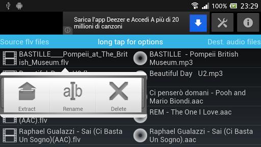 AFA Android Flv Audio