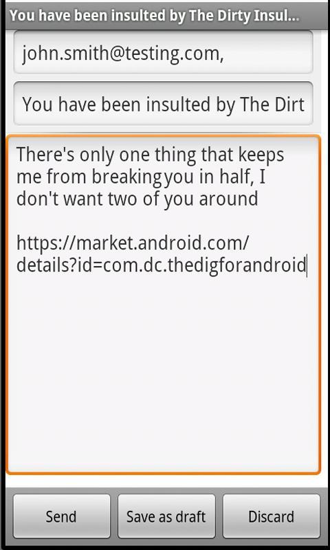 Dirty Insult Generator No Ads- screenshot