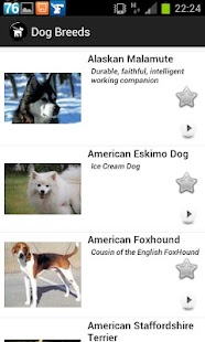 Dogs Breeds FREE - screenshot thumbnail