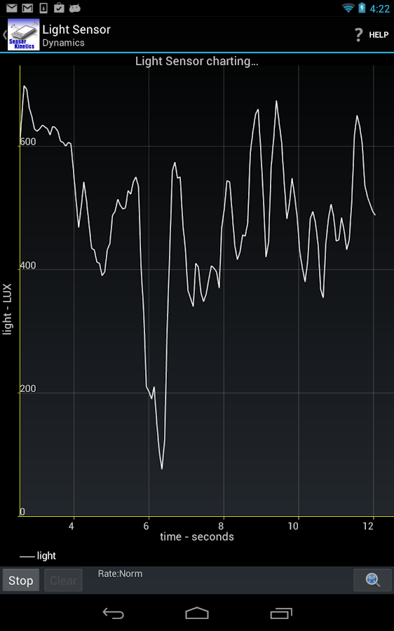 Sensor Kinetics - screenshot