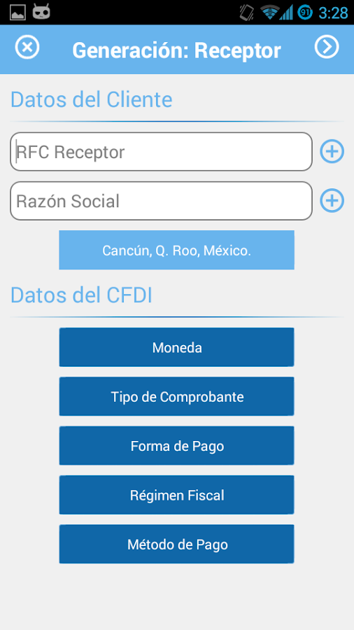 Facturador.com- screenshot