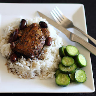 Slow-Cooker Balsamic Chicken With Olives
