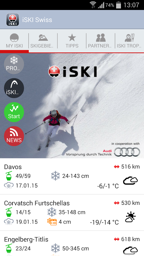 iSKI Swiss - screenshot