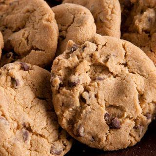 Vegan Chocolate Chip Cookies.