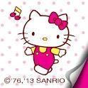 Hello Kitty Dot Atom theme