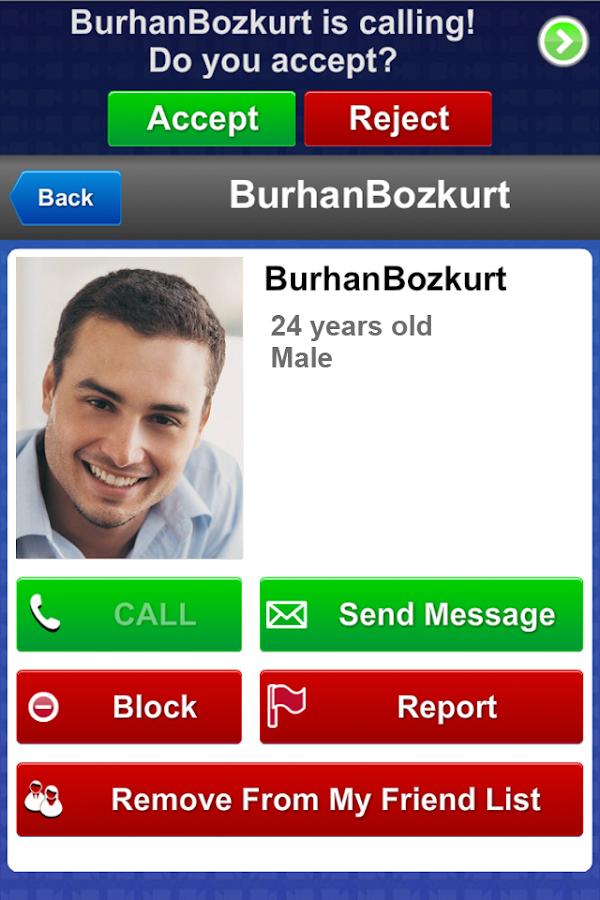 B-Messenger (Video Chat) - screenshot