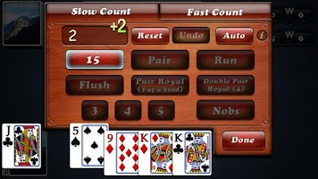 Screenshot of zzzzAces Cribbage
