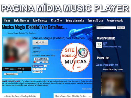 Musica SITEFLASH.S A
