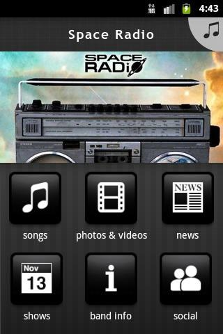 Space Radio - screenshot