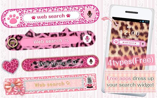 Kawaii Widget Pink Leopard