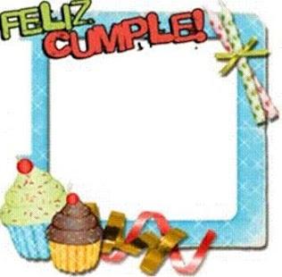 Cumpleaños marcos de fotos