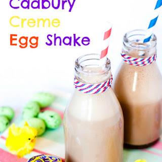 Cadbury Creme Egg Shake.