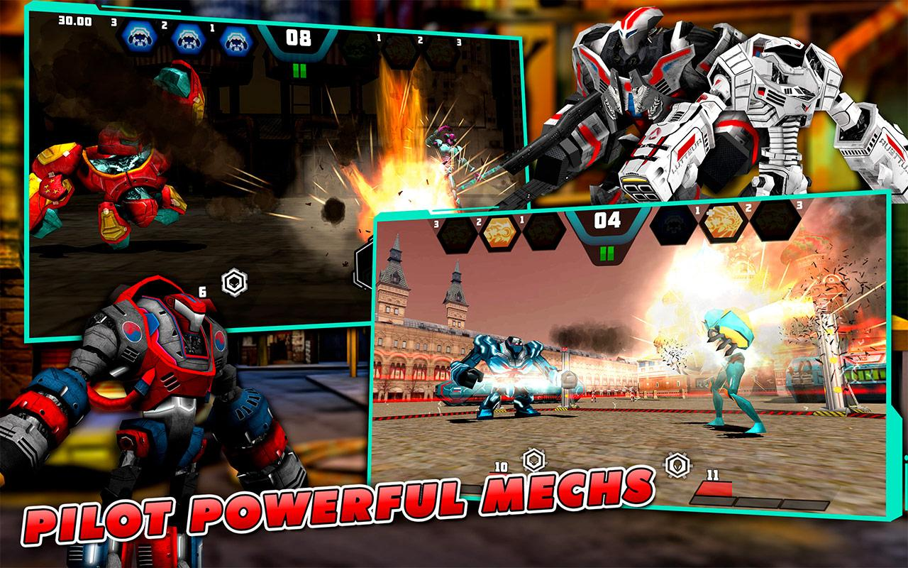 Mechs vs Aliens- screenshot