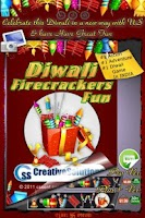 Screenshot of Diwali Fire Crackers Fun Free