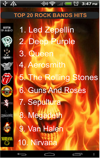 Best Rock Bands Hits