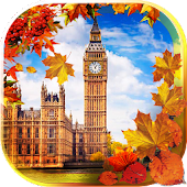 Autumn London live wallpaper