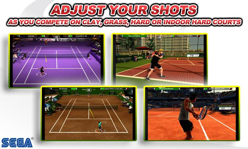 Virtua Tennis™ Challenge screenshot #5