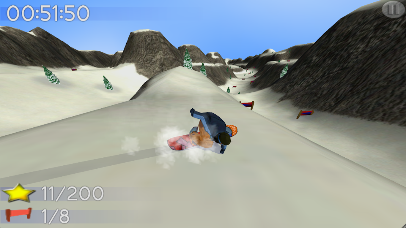 B.M.Snowboard Free- screenshot