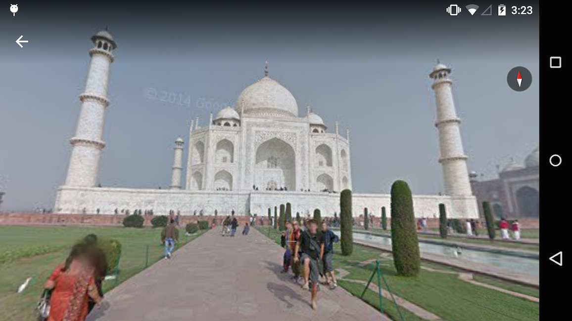 #6. Google Earth (Android)