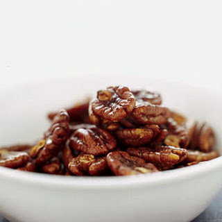 Spicy Toasted Pecans