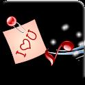 Romantic LOVE SMS logo