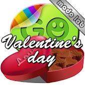 Valentines day GO SMS Pro thm