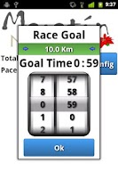 Screenshot of Marathon Pacer
