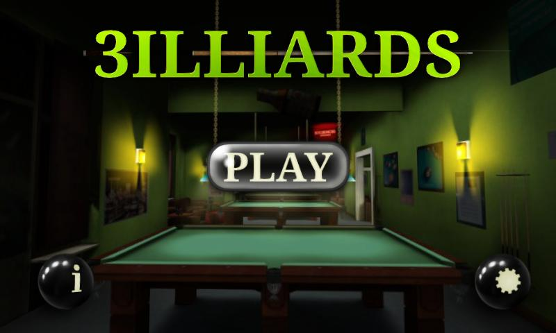 3D Pool game - 3ILLIARDS Free - screenshot