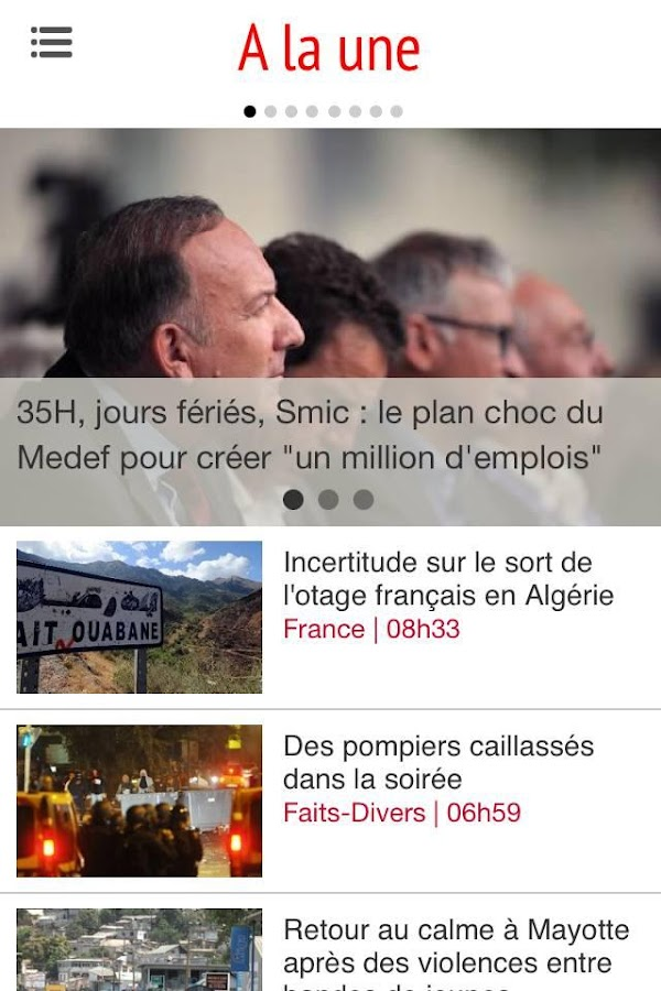 Clicanoo - Journal de l'île - screenshot