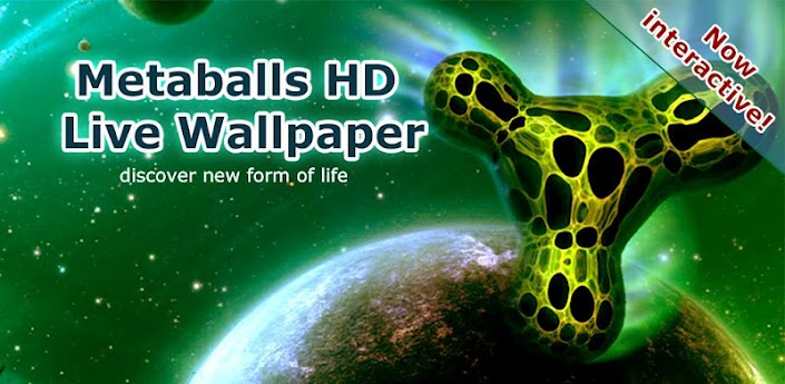 Metaballs HD Live Wallpaper v3.5 Apk
