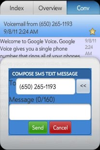 SynerGV- Google Voice™ SMS/Mgr- screenshot thumbnail