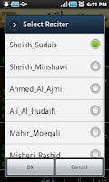 Screenshot of Yasin Pro-7Qura Audio+Meanings