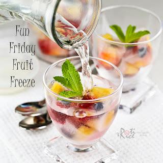 Fun Friday Fruit Freeze (Fruity Ice Cubes)