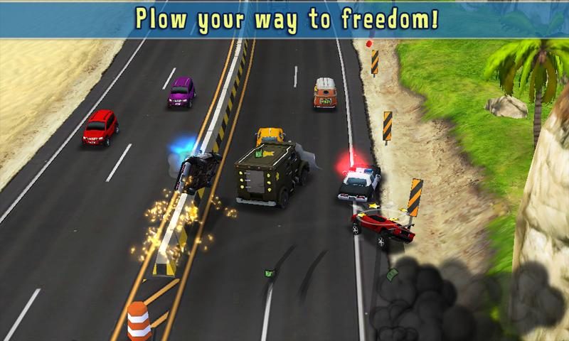 Reckless Getaway- screenshot