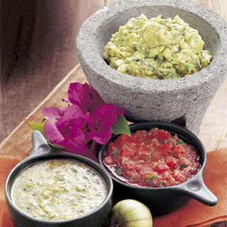Guacamole with Roasted Tomatillos