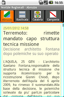 Notizie Regionali - screenshot thumbnail