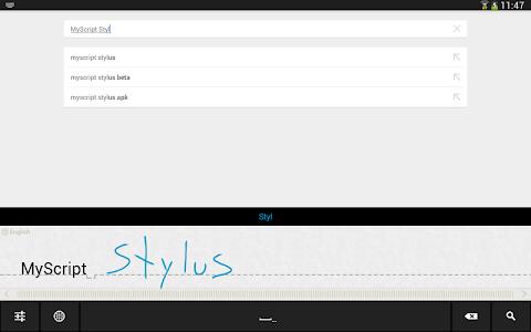 MyScript Stylus (Beta) v3.3.61