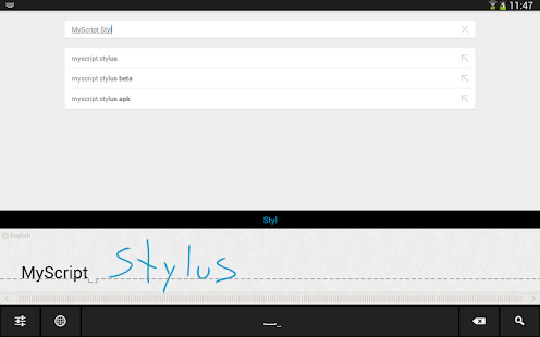 MyScript Stylus (Beta) Screenshot 4