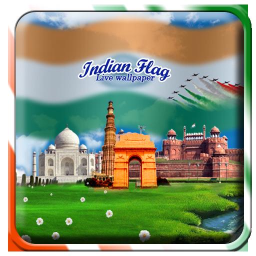 社交必備App Indian Flag with Music Live WP LOGO-綠色工廠好玩App