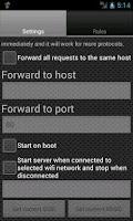 Screenshot of Proxy Server