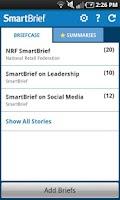 Screenshot of SmartBrief