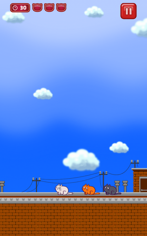 Cats Vs Birds- screenshot