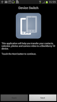 Screenshot of Device Switch